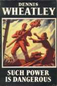 (1953 reprint cover for Such Power Is Dangerous)