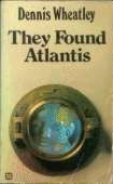 1971 cover for They Found Atlantis