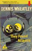 1958 reprint cover for They Found Atlantis