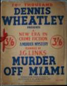 (50th reprint cover for Murder Off Miami)