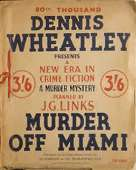 (80th reprint cover for Murder Off Miami)