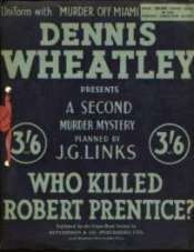 (Who Killed Robert Prentice? image)
