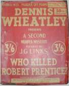 (50th reprint red cover for Who Killed Robert Prentice?)