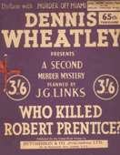 (65th reprint blue cover for Who Killed Robert Prentice?)