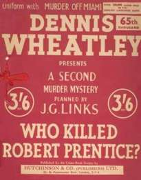 (65th reprint red cover for Who Killed Robert Prentice?)