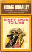 (1966 cover for Sixty Days To Live)