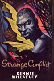 wrapper for the Book Club edition of Strange Conflict