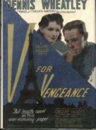 (1942 wrapper for V For Vengeance)
