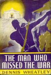 (1946 Book Club wrapper for The Man Who Missed The War)
