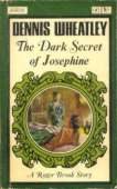 (1966 cover for The Dark Secret Of Josephine)
