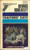 1966 cover for Traitors' Gate