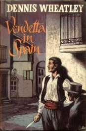 1961 Book Club wrapper for Vendetta In Spain