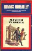 (1965 cover for Mayhem In Greece)