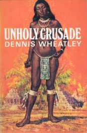 1967 Book Club wrapper for Unholy Crusade