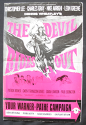 The Devil Rides Out – Cinema Managers publicity booklet