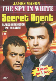 DVD Cover - The Spy in White