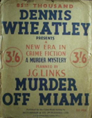 (85th reprint cover for Murder Off Miami)