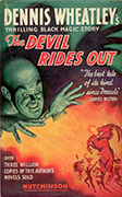 (cheap edition cover for The Devil Rides Out)