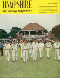 Hampshire the county magazine cover
