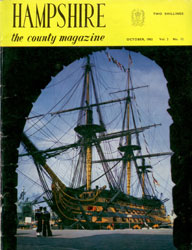 Hampshire the county magazine cover 1962