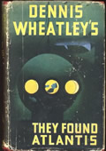(1954 reprint cover for They Found Atlantis)
