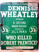 (1980 reprint cover for Who Killed Robert Prentice?)